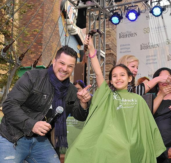 New York-New York Hotel & Casino to Host 10th Annual St. Baldrick's Day Head-Shaving Event, March 9