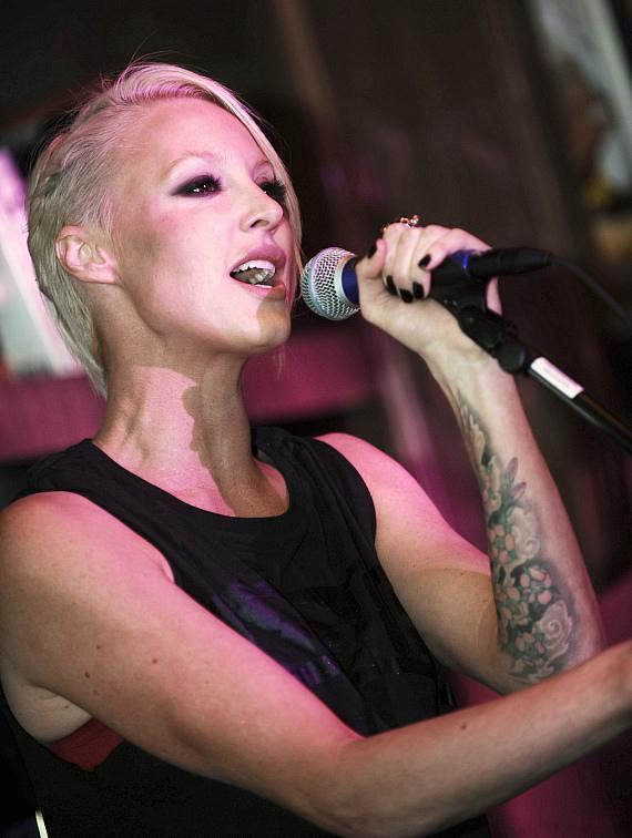 Emma Hewitt performs at Marquee
