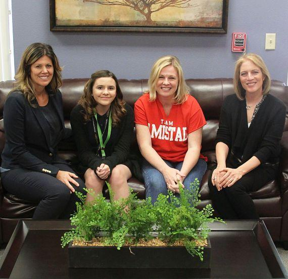 Student's Letter Wins New Furnishings for Teachers' Lounge at Victoria Fertitta Middle School