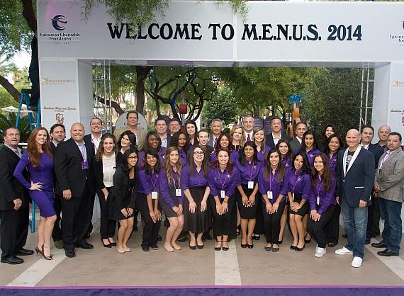 Students and Board Members at M.E.N.U.S. 2014