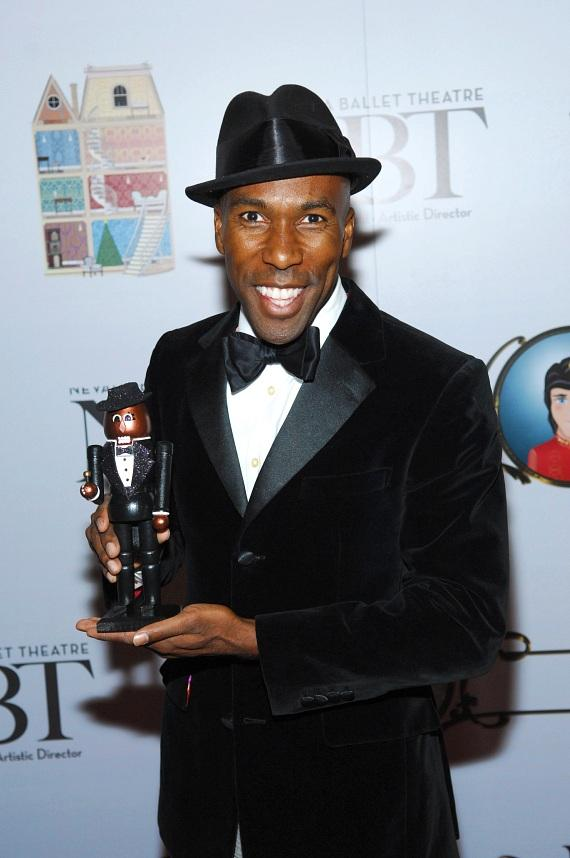 Eric Jordan Young attends premiere of Nevada Ballet Theater's The Nutcracker
