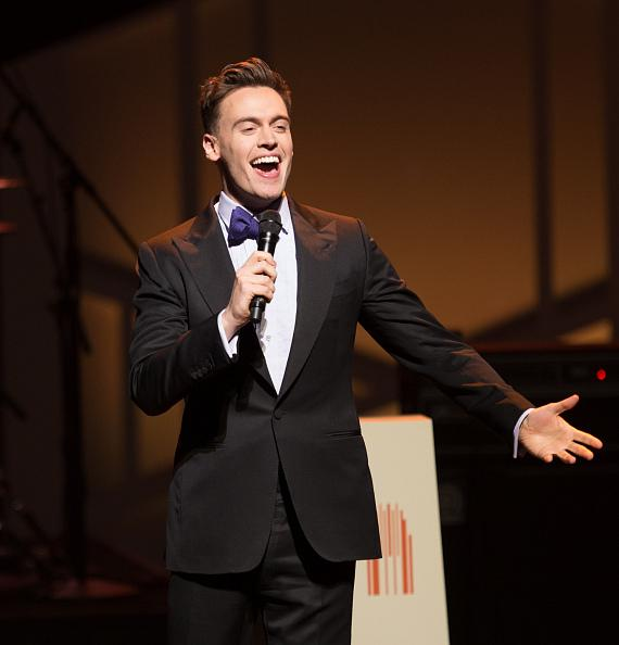 The Sound Collage, Erich Bergen, Michael Cavanaugh, Clint Holmes, and Brumby perform at 2017 Heart of Education Awards with Keynote Speaker Jill Biden