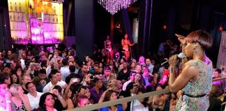 Estelle performs at Chateau Nightclub