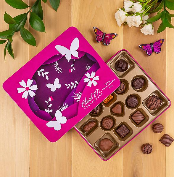 Ethel M Chocolates Brings Back Premium Dark Chocolate Peanut Butter Eggs and Limited-Edition Treats for Spring 2019