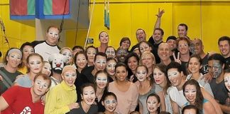 "Eva Longoria's Birthday Weekend Includes ""O"" by Cirque du Soleil"