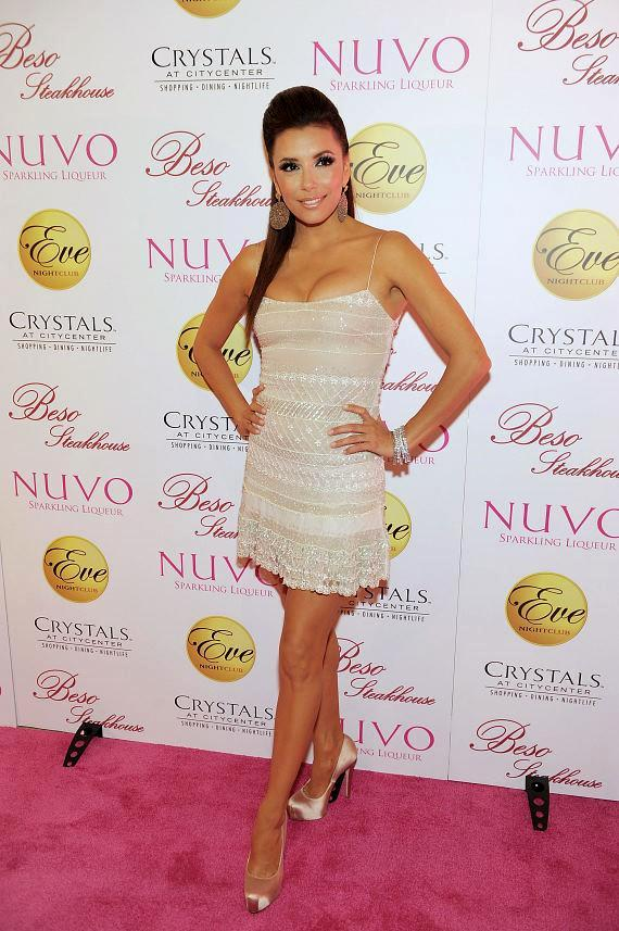 Eva Longoria celebrates her birthday at Eve Nightclub at Crystals in CityCenter Las Vegas