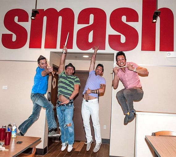 Recycled Percussion's first Smashburger
