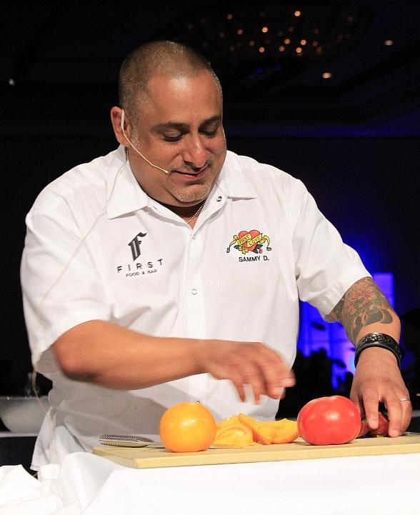 Executive Chef Sam DeMarco from FIRST Food & Bar