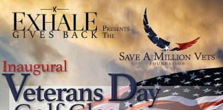 """Exhale Gives Back & Save a Million Vets Foundation Present Inaugural """"Veteran's Day Golf Classic"""" at Royal Links Golf Club Las Vegas"""