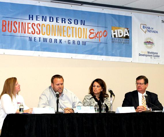Panel at Henderson Business Connection Expo