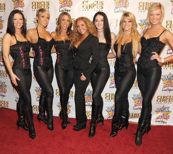 "The stunning cast of FANTASY attends ""Flair for the Cure"""