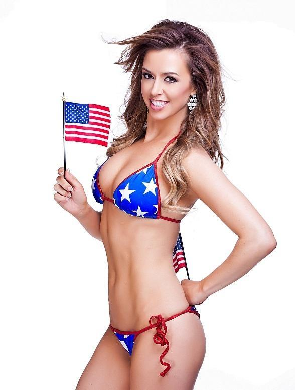 FANTASY Mariah in Red, White and Blue-2