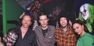 Courtney Gains, Jason Egan, DJ Ashba & Danielle Harris