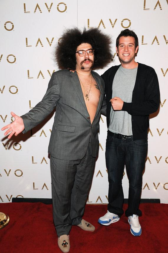 Fabrizio Goldstein and Ben Lyons at LAVO