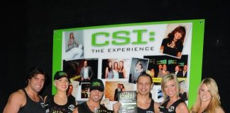 FANTASY and Thunder From Down Under Visit CSI: The Experience at MGM Grand