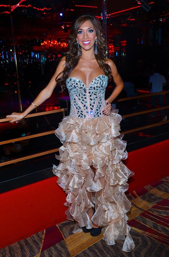 "Farrah Abraham with signed ""Back Door Teen Mom"" DVD at Crazy Horse III"