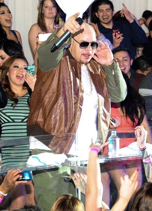 Fat Joe Gives Special Fat Tuesday Performance at PURE Nightclub
