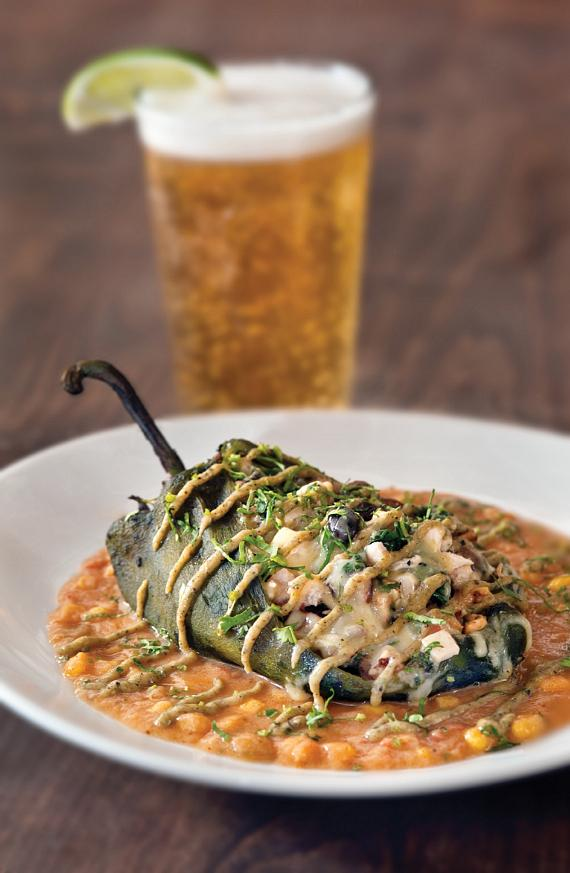 Fire-Roasted Chile Relleno