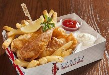 Cheers to One Year! Gordon Ramsay Fish & Chips Celebrates First Anniversary at The LINQ Promenade Las Vegas
