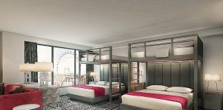 Flamingo Las Vegas Unveils One of the Largest Bunk Bed Suites in the U.S. with Second Phase of $156 Million Room Renovation