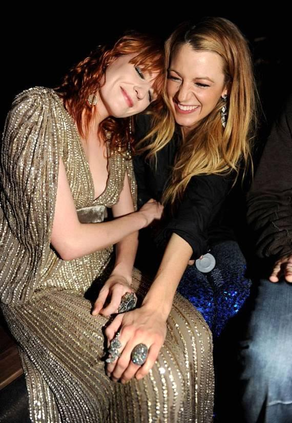 Florence Welch and Blake Lively