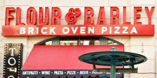 """Tap Takeover"" at Flour & Barley Brick Oven Pizza at The LINQ in Las Vegas"