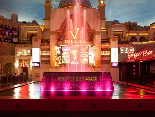Miracle Mile Shops Turns Fountain Pink in Honor of Breast Cancer Awareness Month