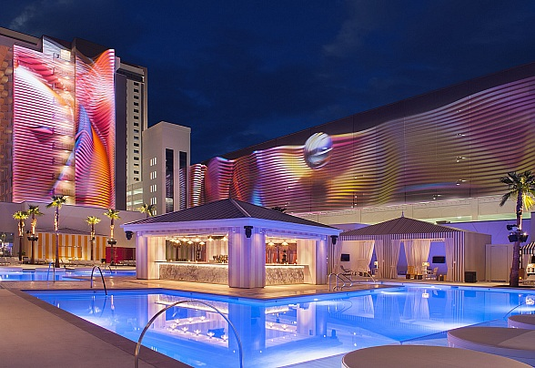 Live Music, Cool Cocktails Now on Deck at Foxtail Pool Every Friday, Saturday Night through Summer at SLS Las Vegas