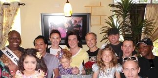 """Frank Marino and the cast of Divas join mini divas from """"Toddlers & Tiaras"""" for viewing party of their episode at Something's Brewing Café, Wednesday, June 19"""