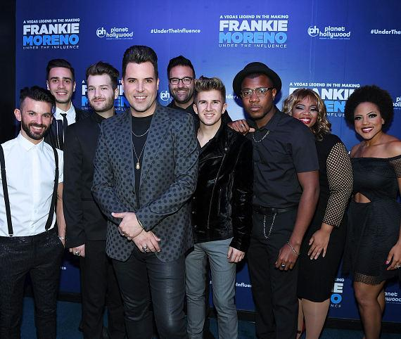 Frankie Moreno Opening Night Red Carpet with Vince Neil, Murray SawChuck, Erich Bergen, Chef Rick Moonen, Clint Holmes, Chris Phillips, Lacey Schwimmer, Paul Zerdin, Earl Turner, Sabrina Bryan and more!