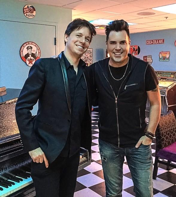 """World-Famous Violinist Joshua Bell attends """"Frankie Moreno - Under The Influence"""" at Planet Hollywood"""