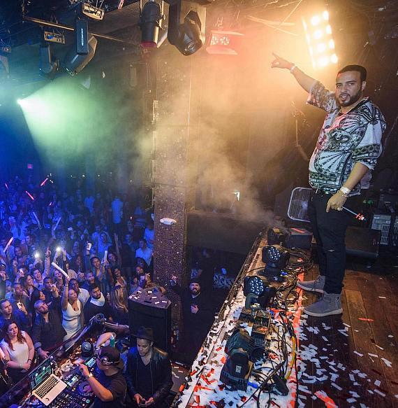 French Montana on Stage at TAO