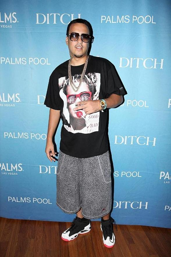 French Montana on red carpet