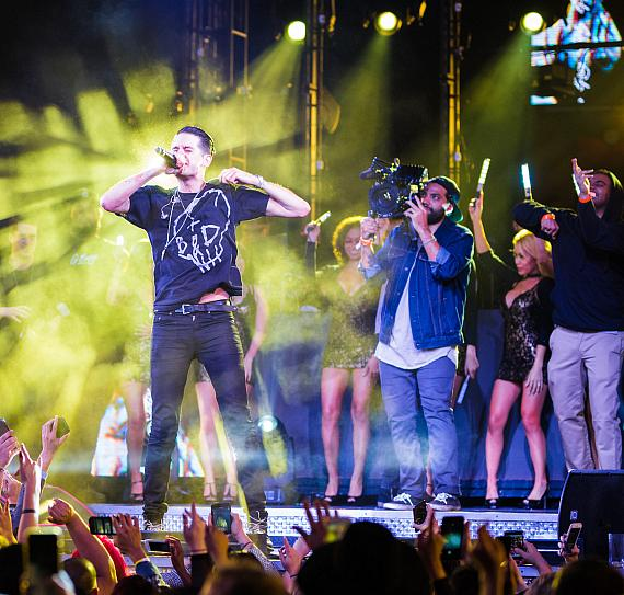 G-Eazy Honored with Platinum Certification Plaque at Official Album Release Party at Drai's Nightclub