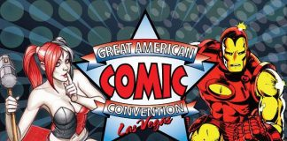 Las Vegas Home to Great American Comic Convention at Cashman Center Dec. 3-4