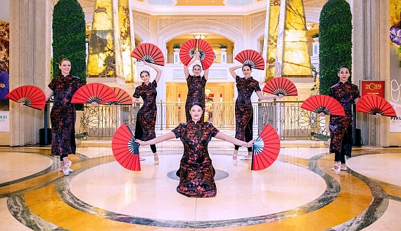 Fashion Show Las Vegas and Grand Canal Shoppes at The Venetian Resort Las Vegas Celebrates the Year of the Pig