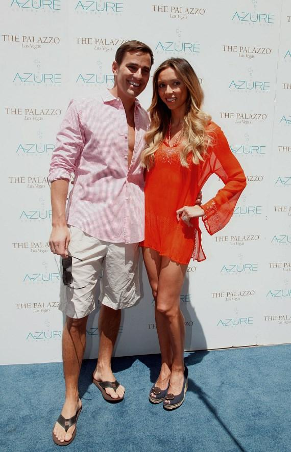 Giuliana and Bill at Azure Luxury Pool