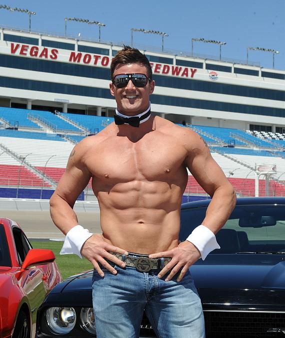 Nathan Minor of Chippendales