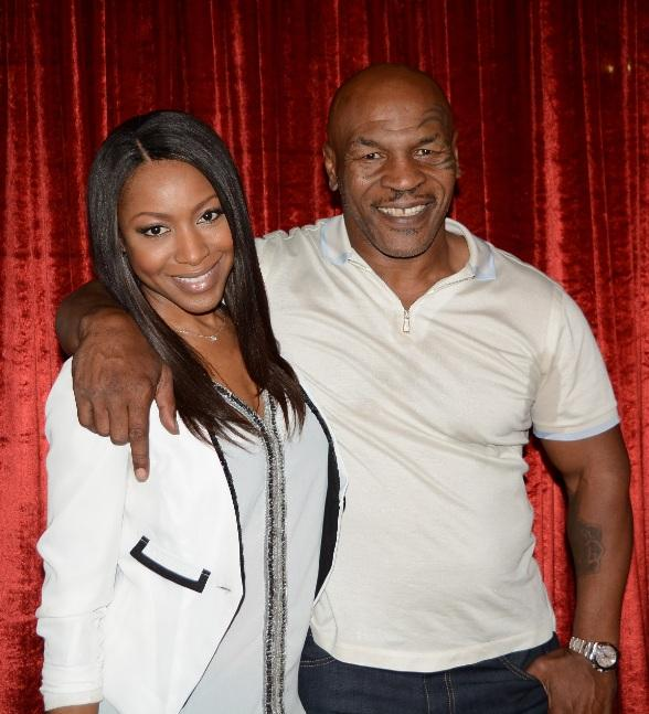"""Actress Gabrielle Dennis attends """"Mike Tyson Undisputed Truth"""" at MGM Grand in Las Vegas"""