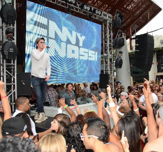 LMFAO with Benny Benassi at Marquee Dayclub
