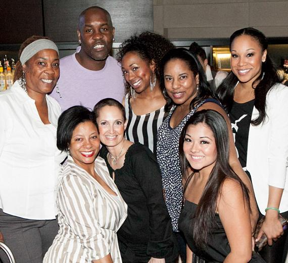 Basketball Legend Gary Payton Celebrates at HERAEA
