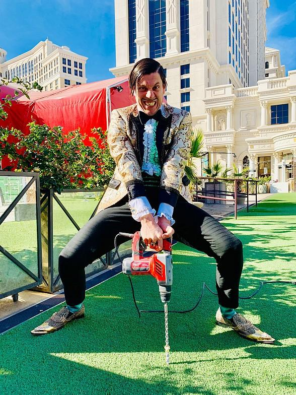The Gazillionaire Plants the ABSINTHE Electric Oak at Caesars Palace in Las Vegas