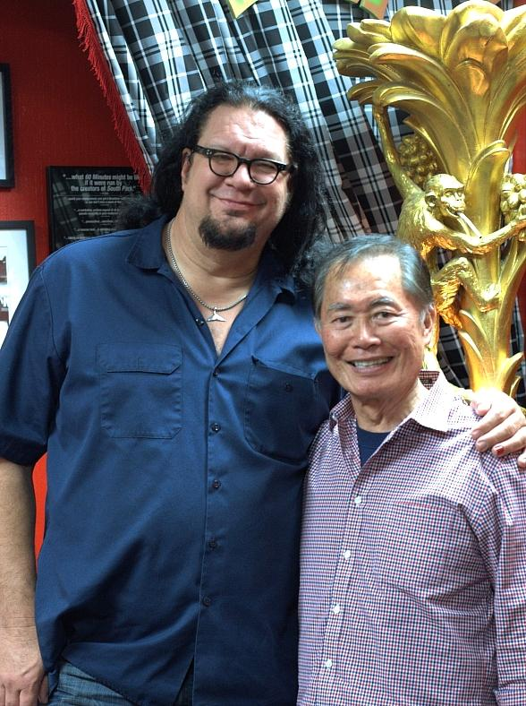 George Takei Joins Penn Jillette for Weekly Podcast at Rio All-Suite Hotel & Casino