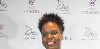 Ghostbusters Star Leslie Jones Spotted at Drai's Nightclub as Jeremih Performs