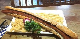 Hofbräuhaus Las Vegas Goes Big for National Bratwurst Day with Giant Sausage Aug. 16