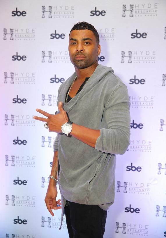 Ginuwine arrives at Hyde Bellagio