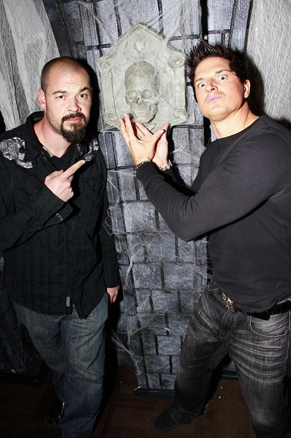 """Lead Paranormal Investigator/Executive Producer from Travel Channel's Series """"Ghost Adventures"""" Zak Bagans"""
