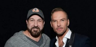 Joey Fatone attends Matt Goss at 1 OAK Nightclub in The Mirage Las Vegas