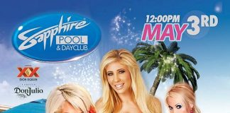 Sapphire Pool & Day Club's Grand Opening May 3 to Feature Tasha Reign, Lolly Ink & Brooke Haven