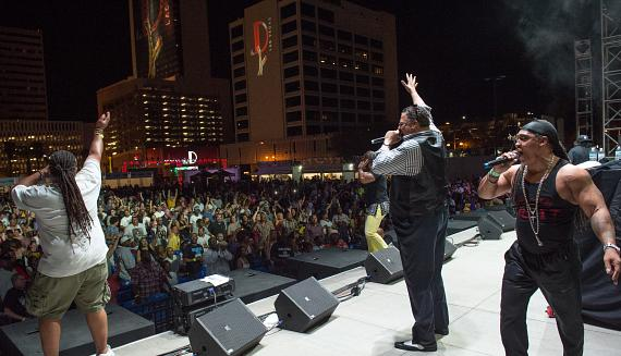 Grandmaster Melle Mel Joined Onstage by the Sugarhill Gang